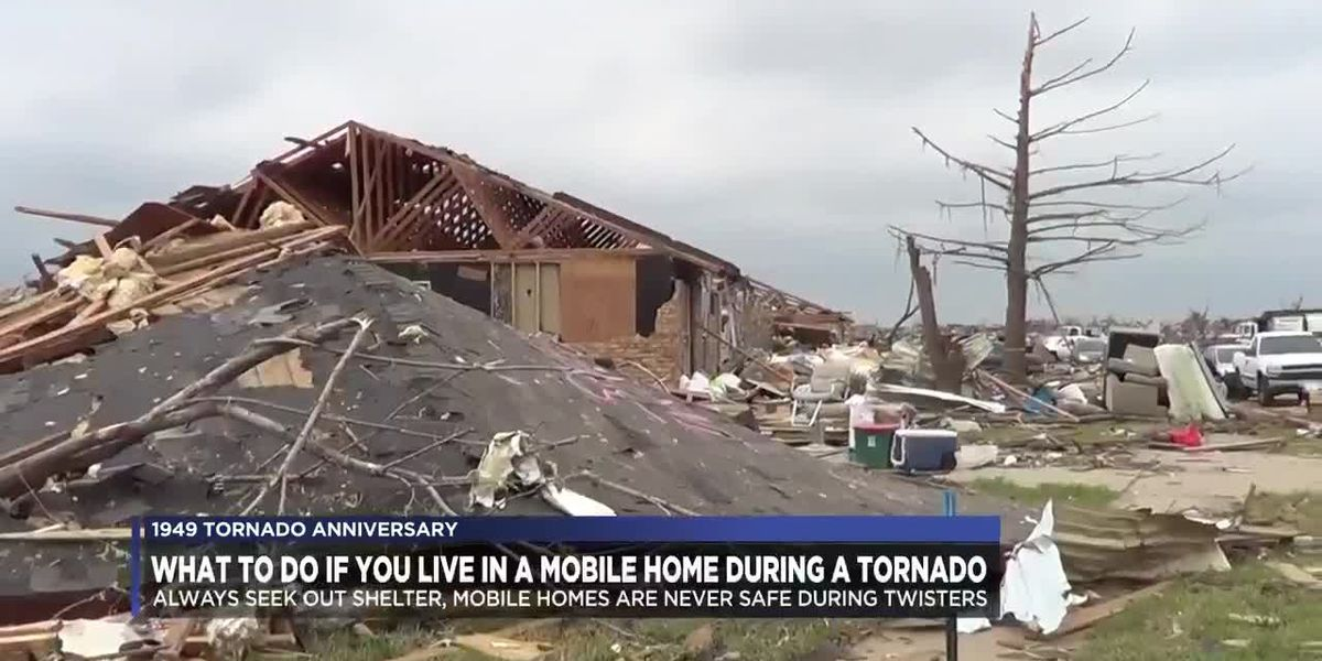 Finding tornado shelter in place and in mobile homes
