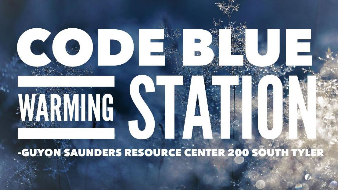 Code Blue Warming Station activated for Friday