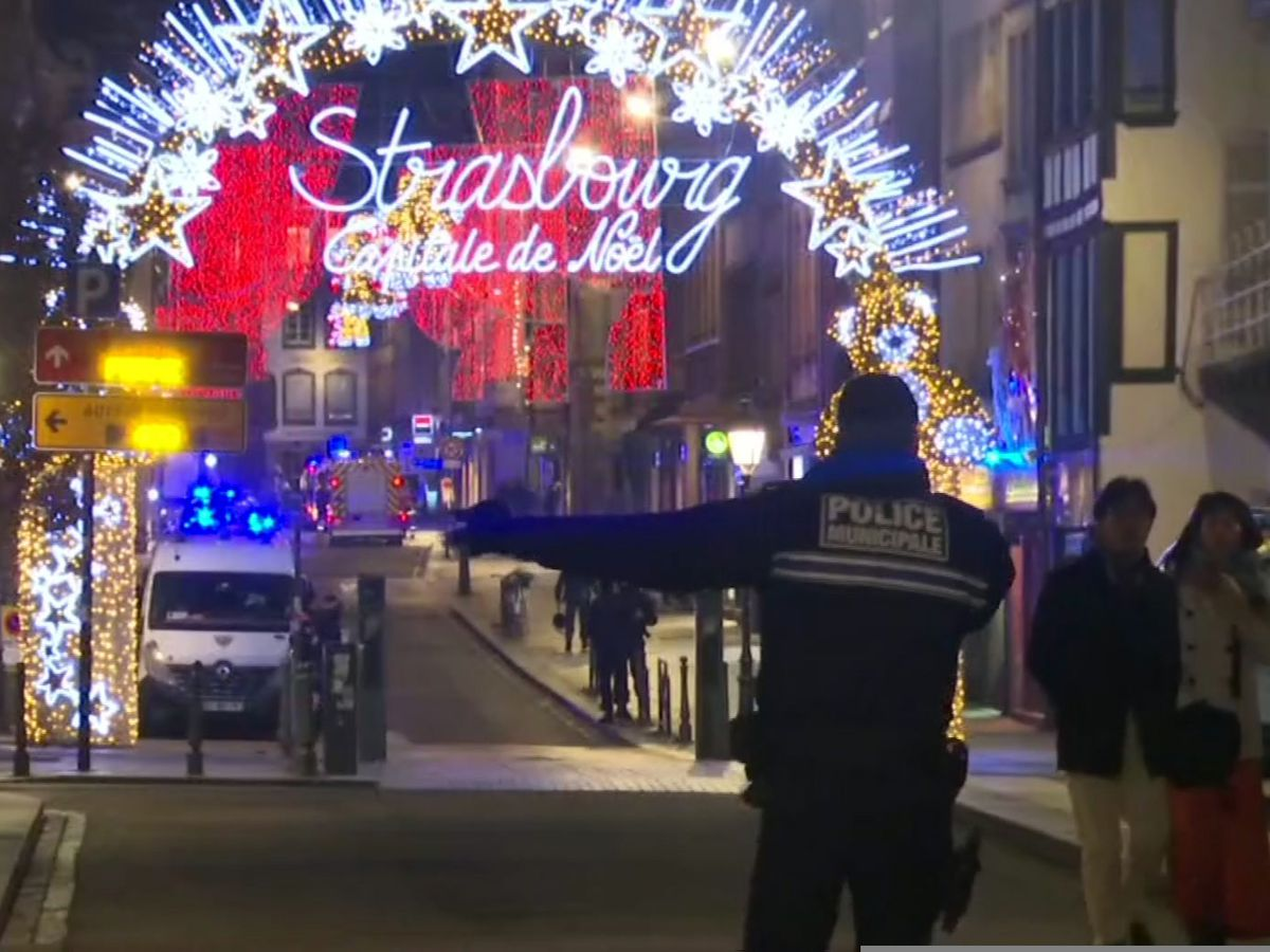 The Latest: Long effort to save Strasbourg victim recounted