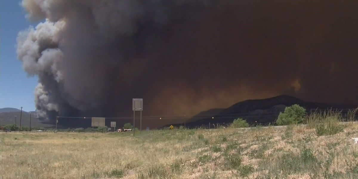 Ute Park fire now 77 percent contained, US 64 open