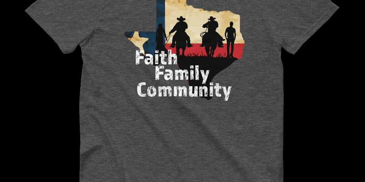 Shirts being sold to benefit victims of fires and first responders