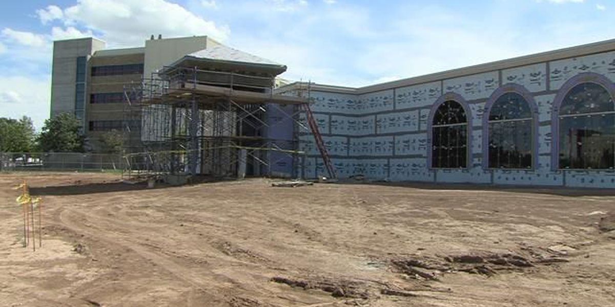 Simulation center construction ahead of schedule at TTUHSC