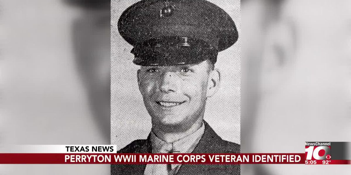 Remains of missing WWII Marine from Perryton accounted for, officials announce