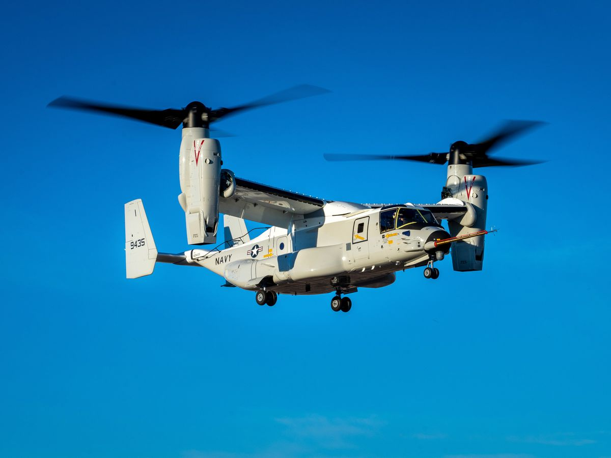 Navy awards Bell-Boeing more than $300 million for production of V-22 variants