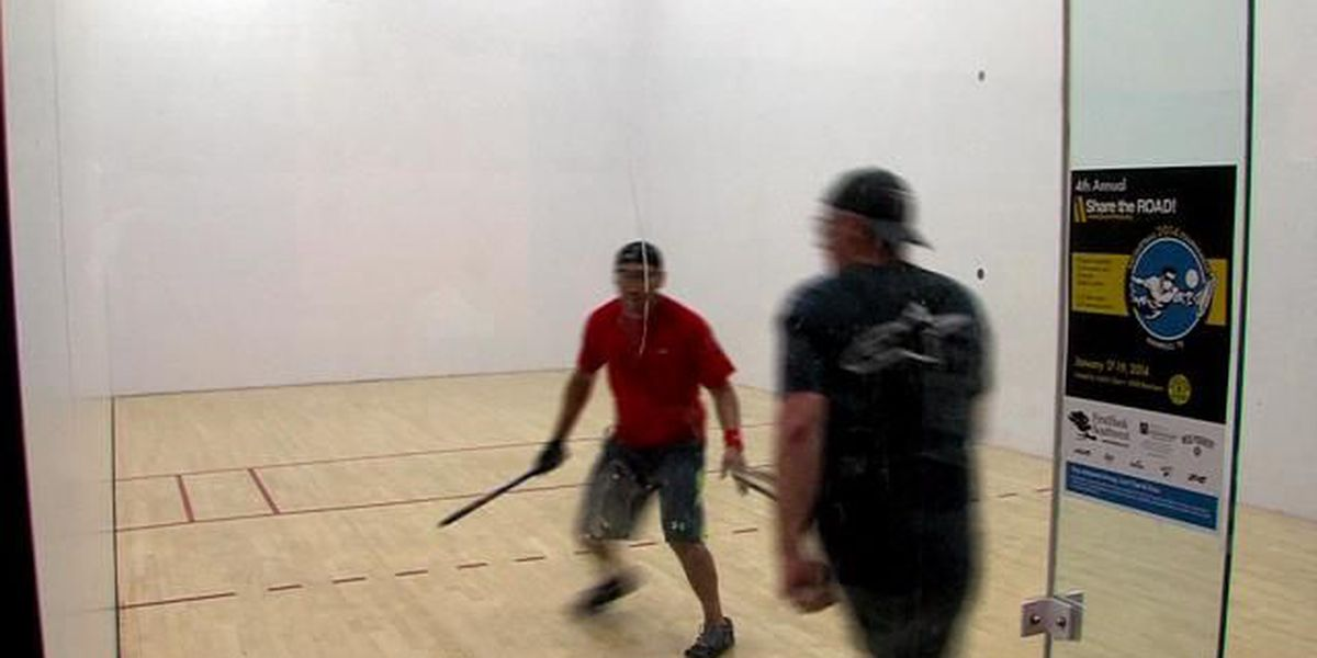 Racquetball tournament helps raise money for Share the Road Texas