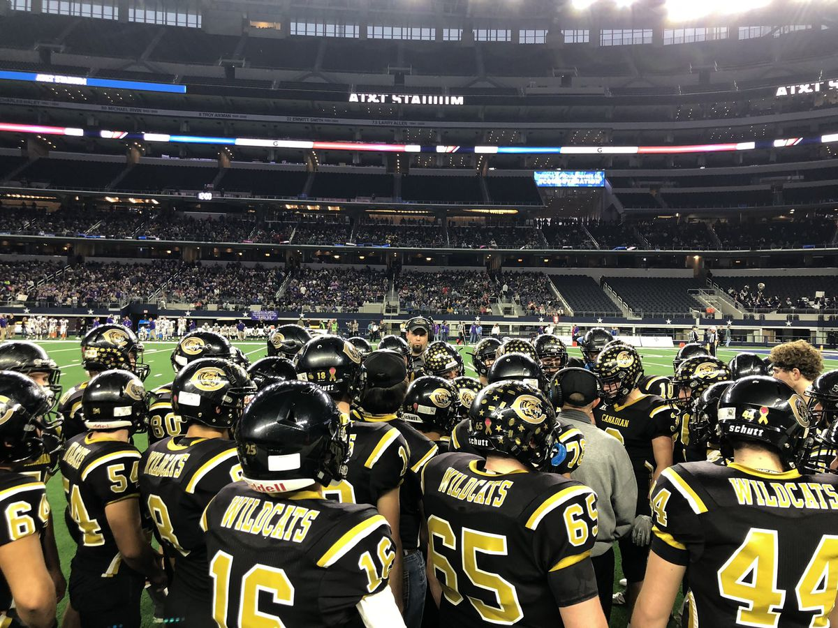 Canadian Wildcats lose state championship game 21-16