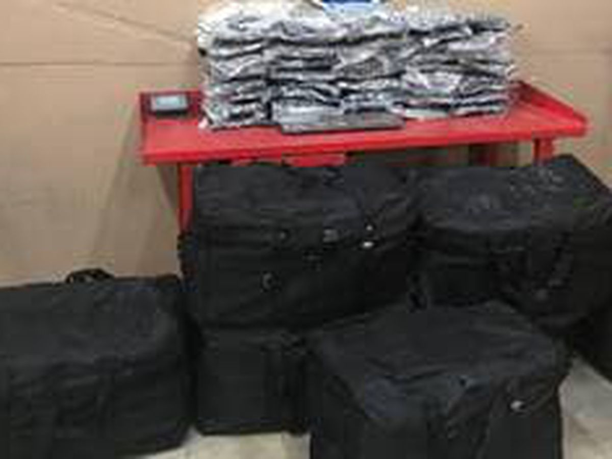 DPS trooper seizes nearly 400 pounds of marijuana during traffic stop Tuesday