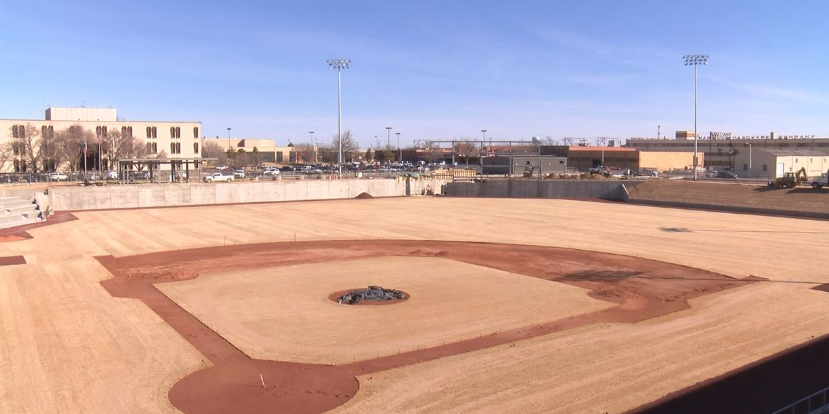 "A year after breaking ground, ""Hodgetown"" baseball stadium taking shape"