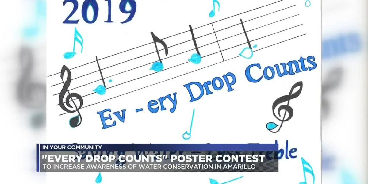 City of Amarillo hosts poster contest for water conservation campaign
