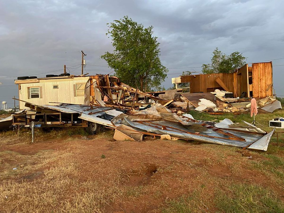 911 AUDIO: Texas woman rescued from home seconds before it collapsed during storm