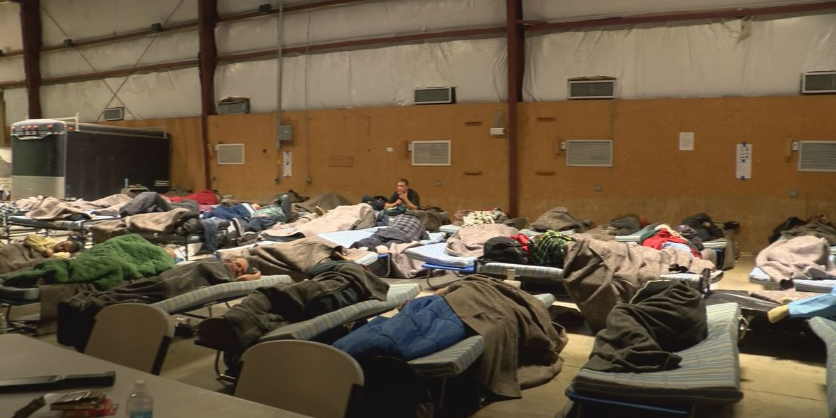 GOOD NEWS: Doppler Dave shares how homeless can have shelter and food during chilling weather
