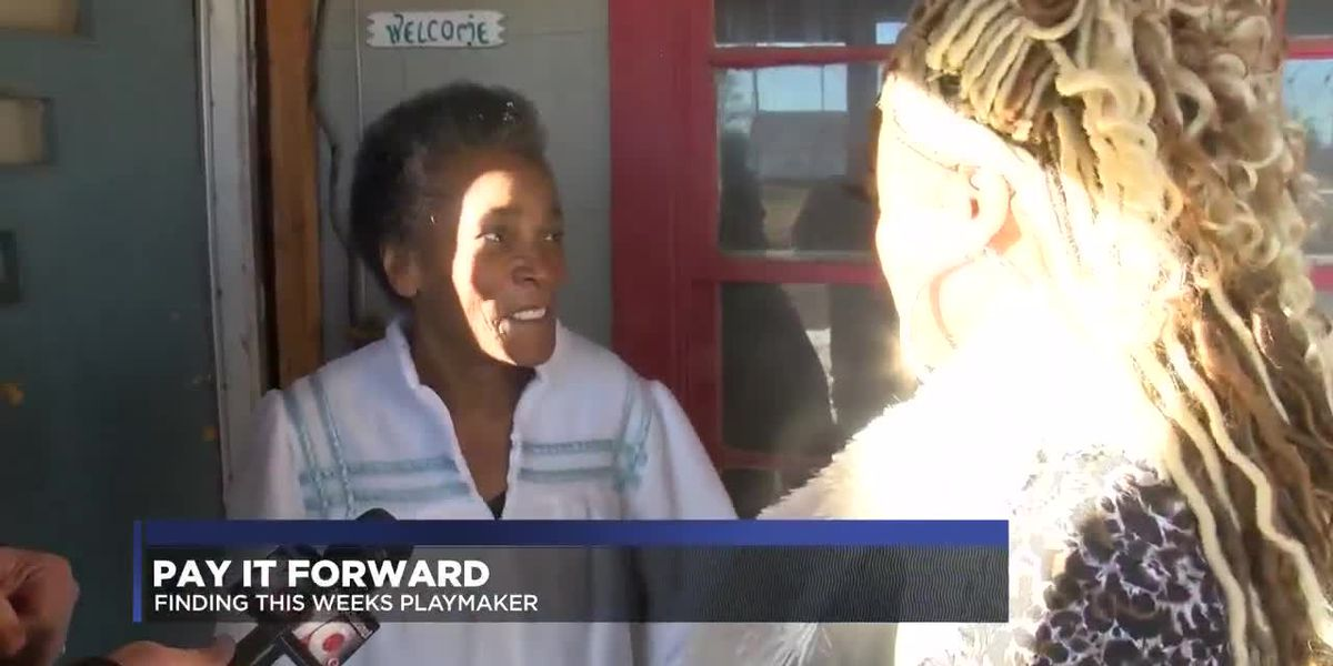 Pay It Forward: Playmaker helps member of church family