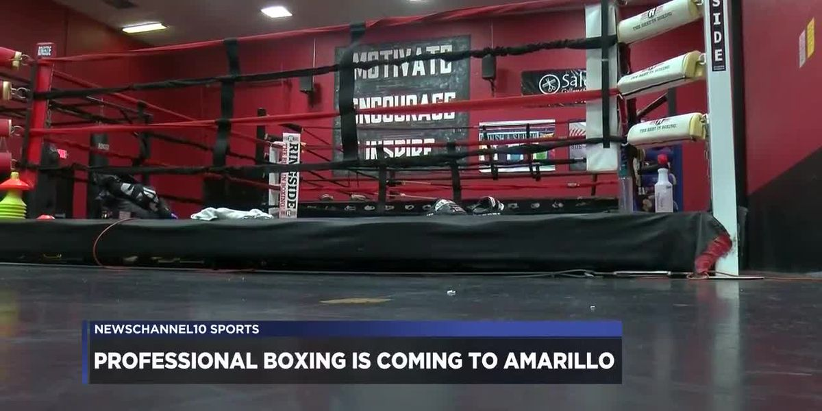 Nick's Fight Club owner Steve Nicholson on pro boxing in Amarillo