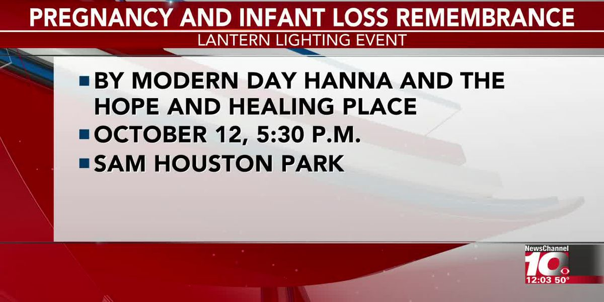VIDEO: Pregnancy and Infant Loss Remembrance Event set for Saturday
