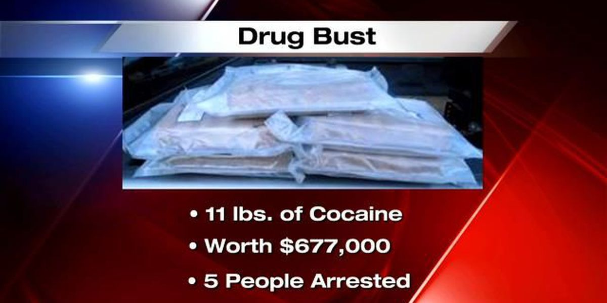 DPS seizes 11 lbs of cocaine