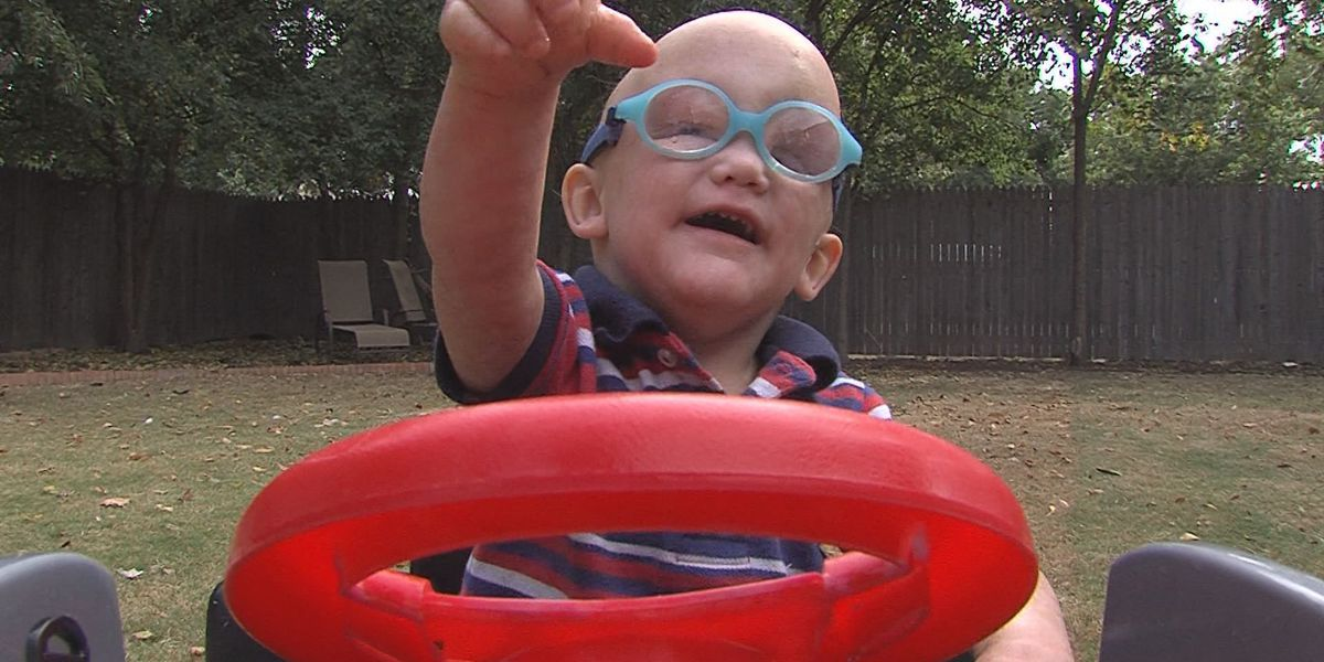 Hampton's Story: living with a rare genetic disease
