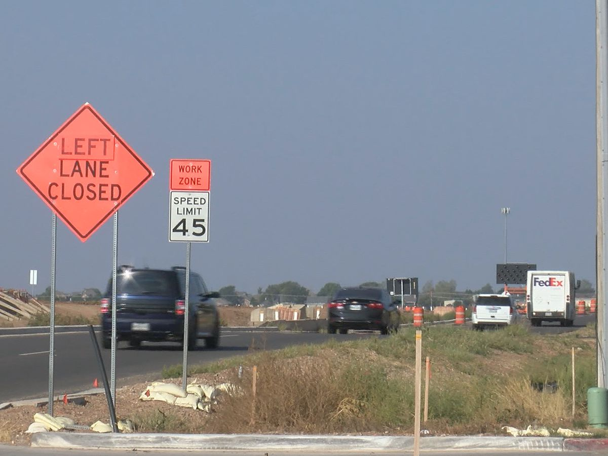 Construction continues on Loop 335, upcoming road closures