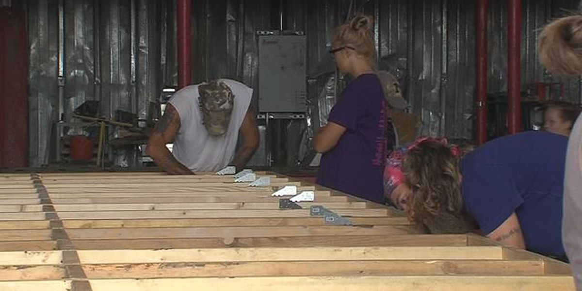 Yellow City Community Outreach building tiny homes for the homeless