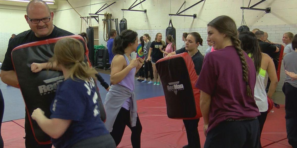 Potter County Sheriff's kick off bye-bye boot camp