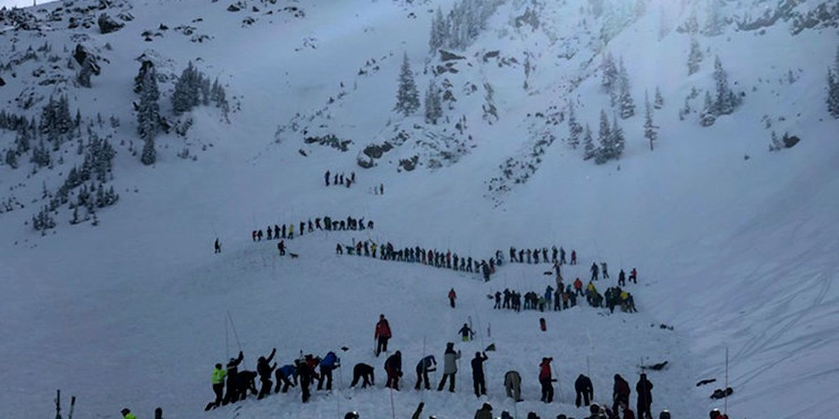 Multiple people buried after avalanche at Taos ski resort