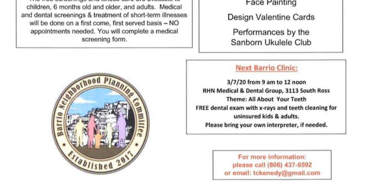 Barrio Wellness Clinic offering free dental exams, teeth cleanings this weekends