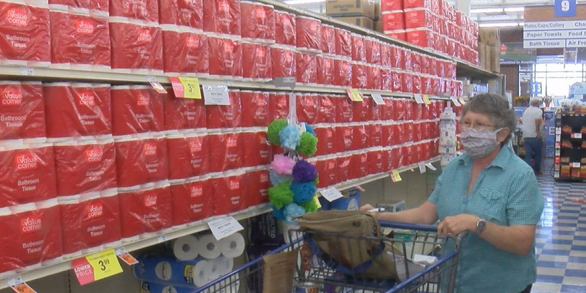 Grocery stores are prepared for second toilet paper rush