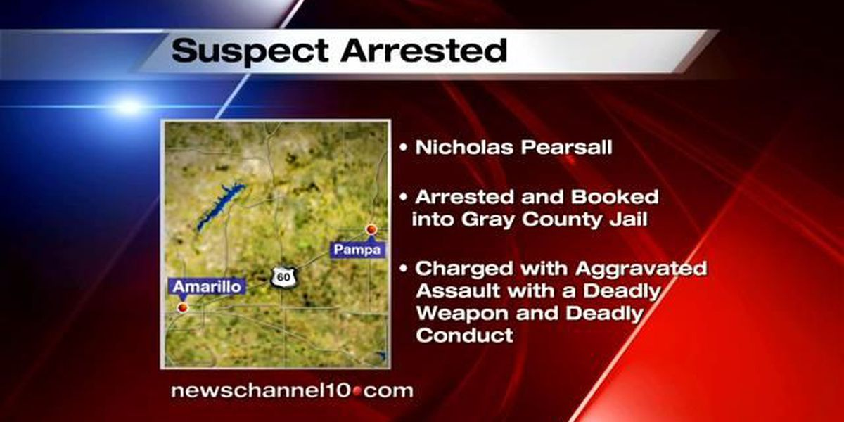 Pampa shooting suspect identified