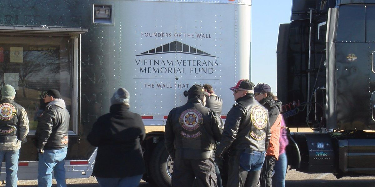 The Wall That Heals makes last stop in Amarillo