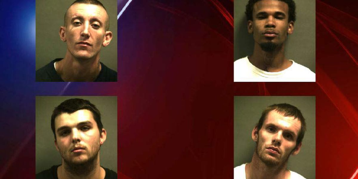 Four men arrested in Walmart theft