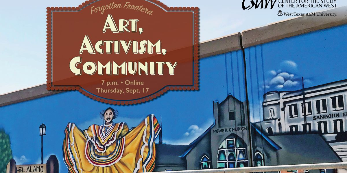 Fourth 'Forgotten Frontera' conversation to be held online, focus on barrio mural art project