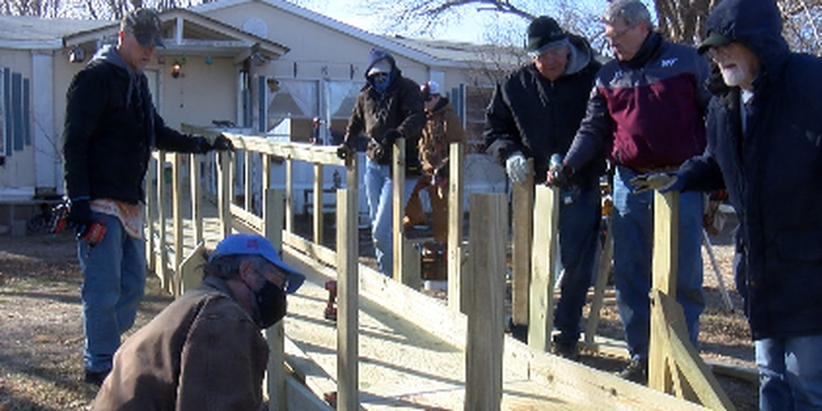 'They can't keep up': Volunteers in dire need to help build ramps for disabled individuals