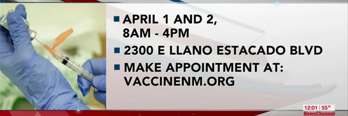 VIDEO: Clovis vaccination clinic available Thursday and Friday