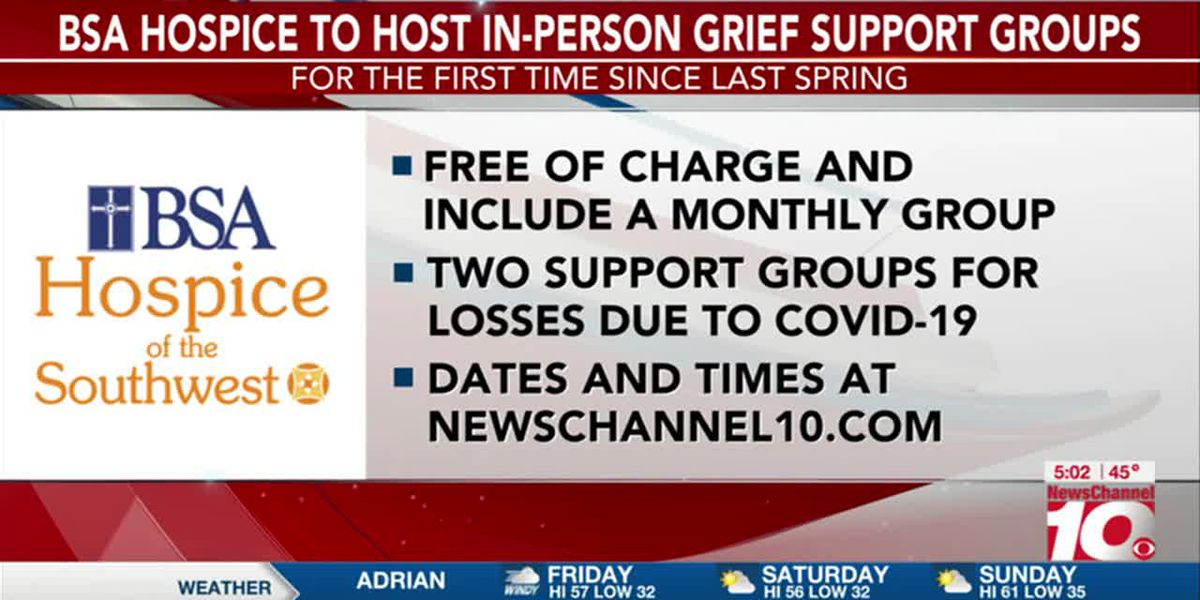 VIDEO: BSA Hospice of the Southwest to hold in-person grief support groups