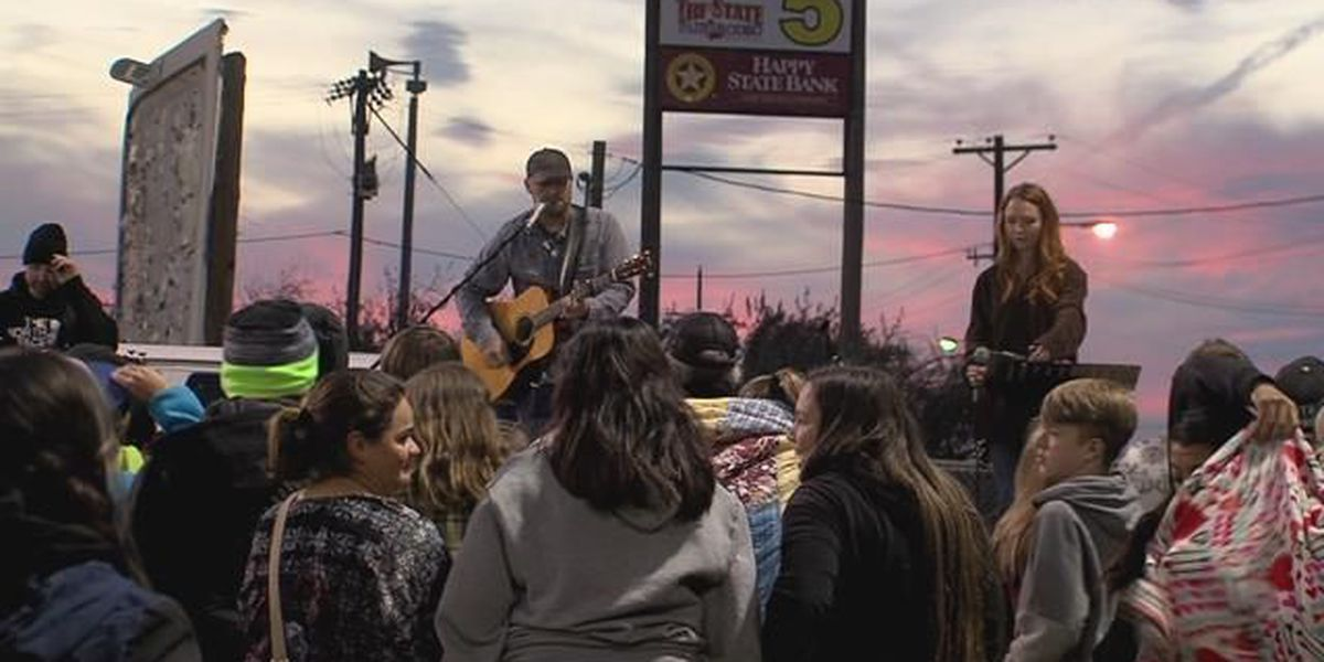 Area students join in taking 'Fields of Faith'