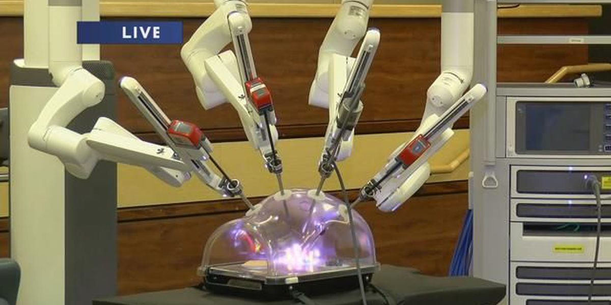 BSA Hospital using upgraded surgical robot, improving patient care and recovery time