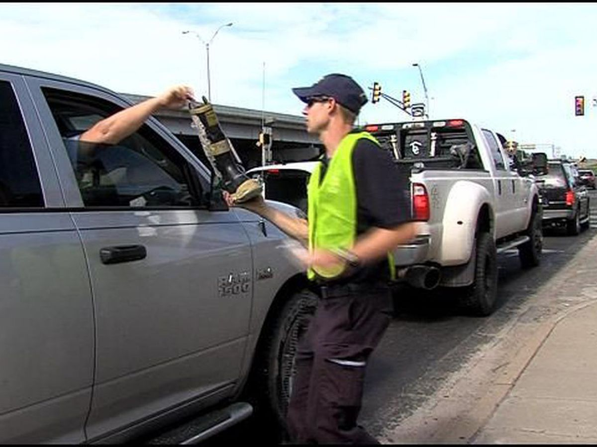 Amarillo firefighters kick off 'Fill the Boot' campaign