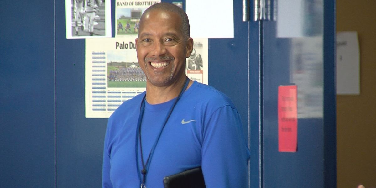 Palo Duro's Coach A.J. Johnson receives award for community service