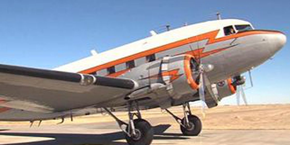 DC-3 Retires to the Panhandle