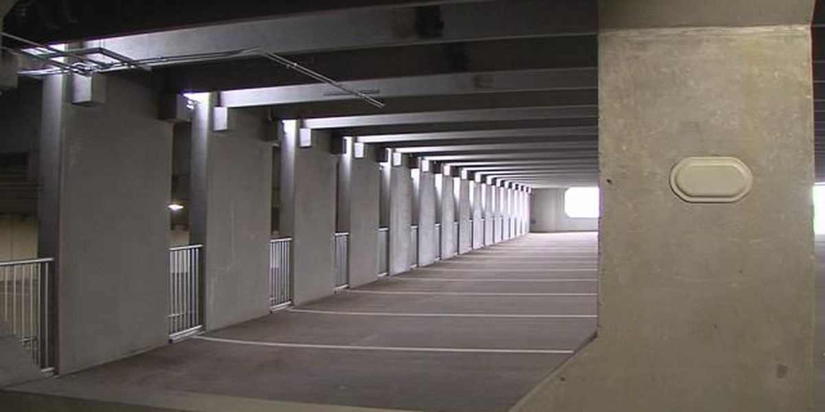 Downtown Amarillo's new parking garage now open