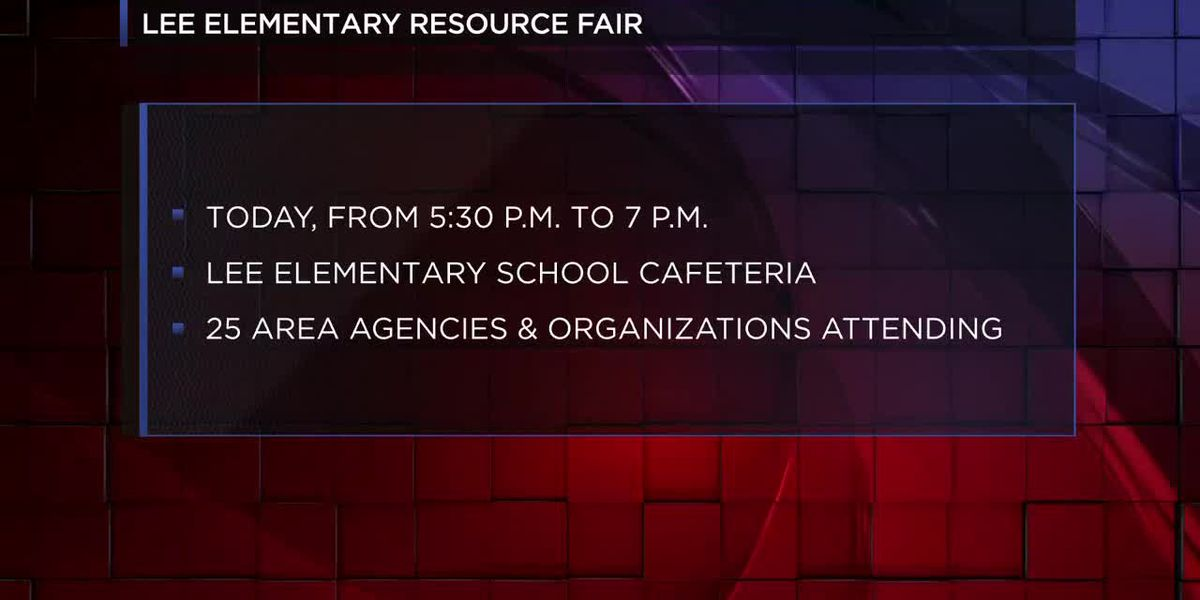 VIDEO: Lee Elementary hosting community resource fair