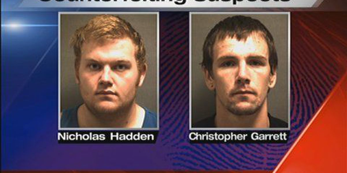 Two men charged in counterfeiting scheme