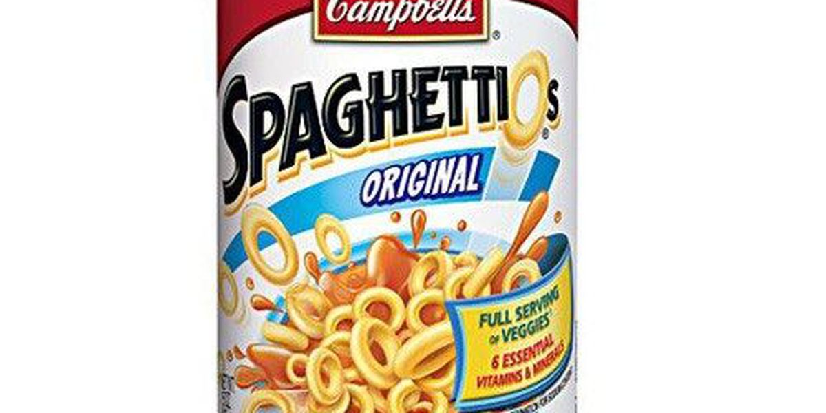 Campbell's Recalls 355K Cans of SpaghettiOs