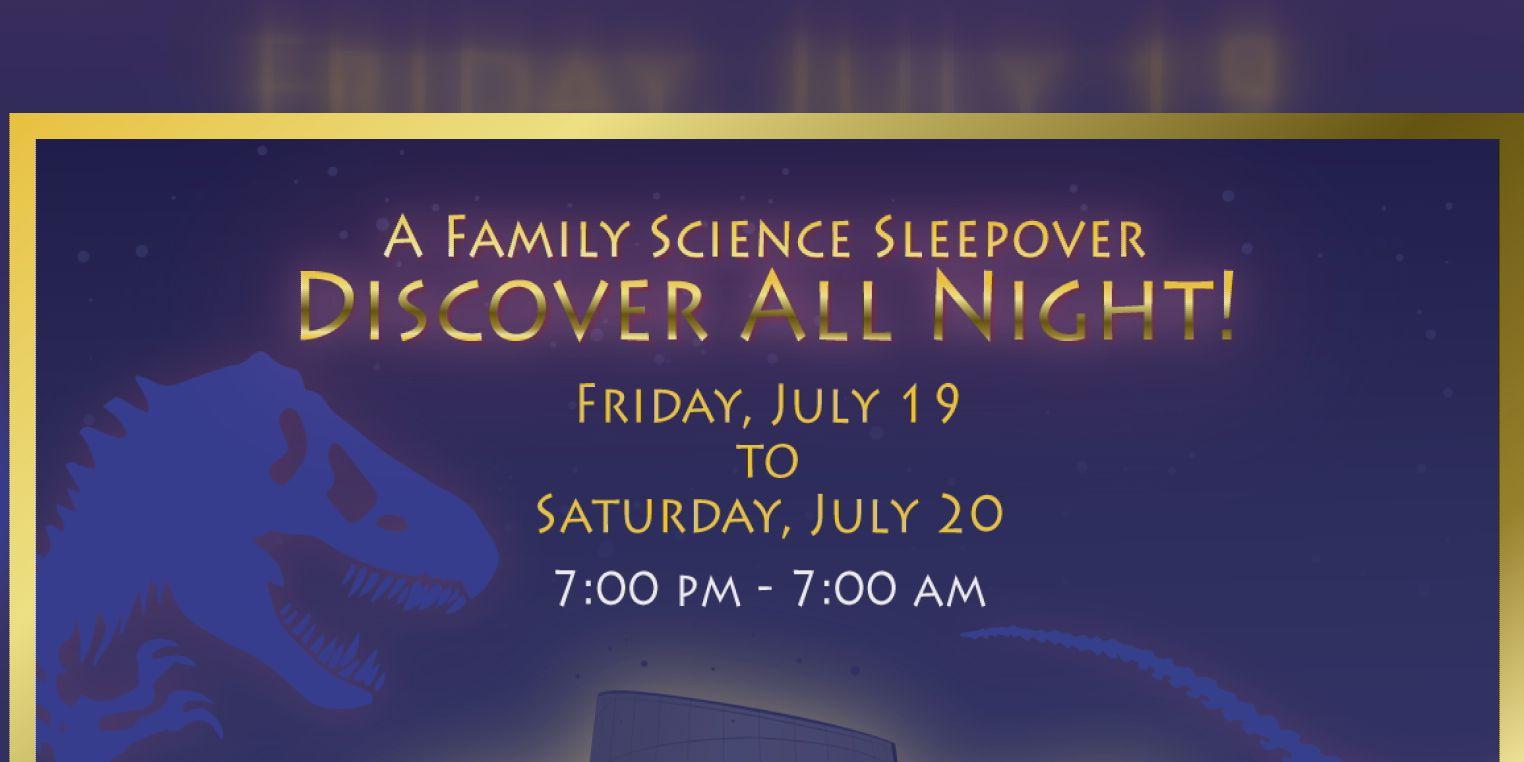 Don Harrington Discovery Center to host family sleepover night