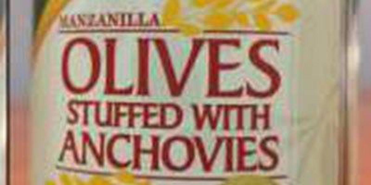 RECALL ALERT: Manzanilla Olives with Anchovies