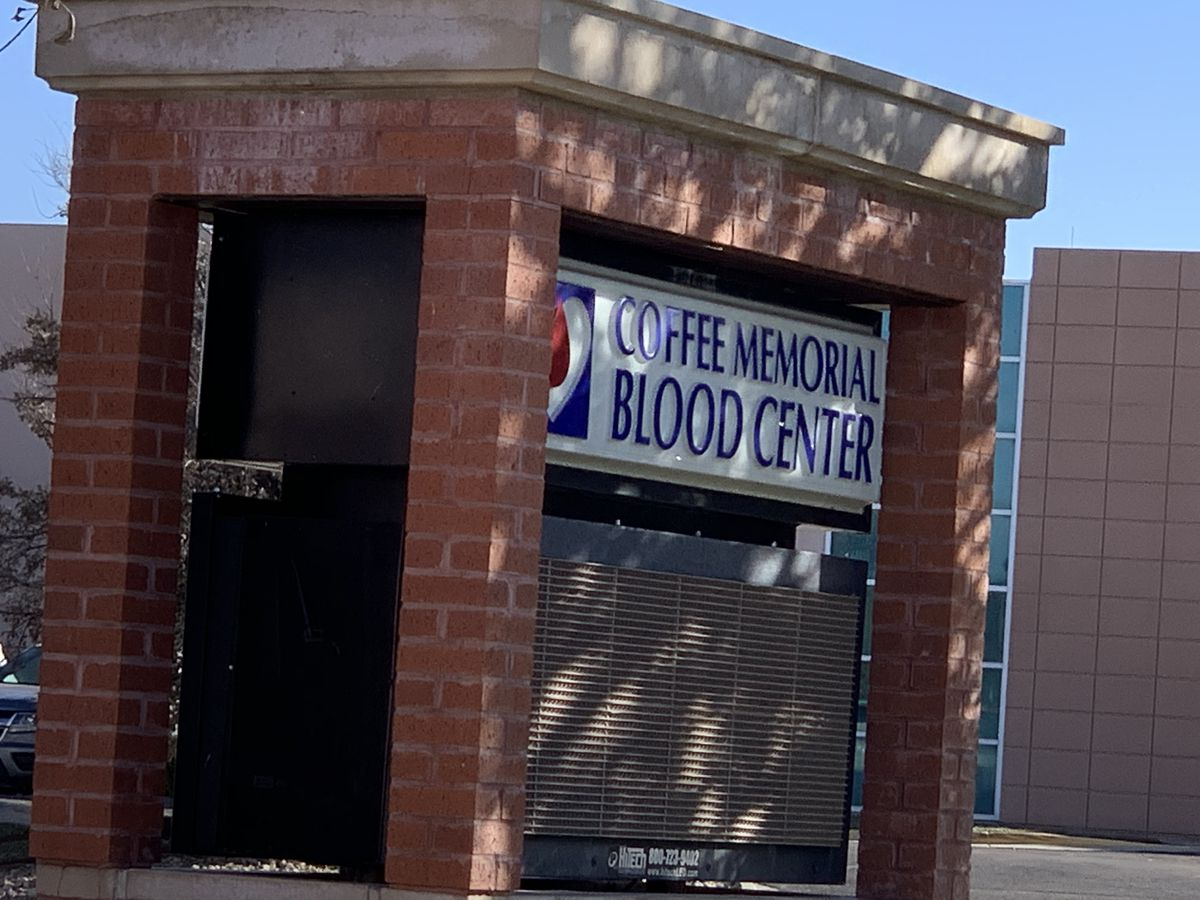 Coffee Memorial Blood Center to install a new Clean Room