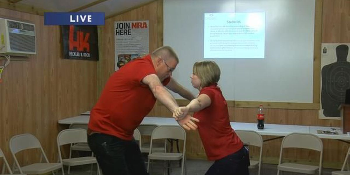 Fight Like A Girl Self Defense class this weekend