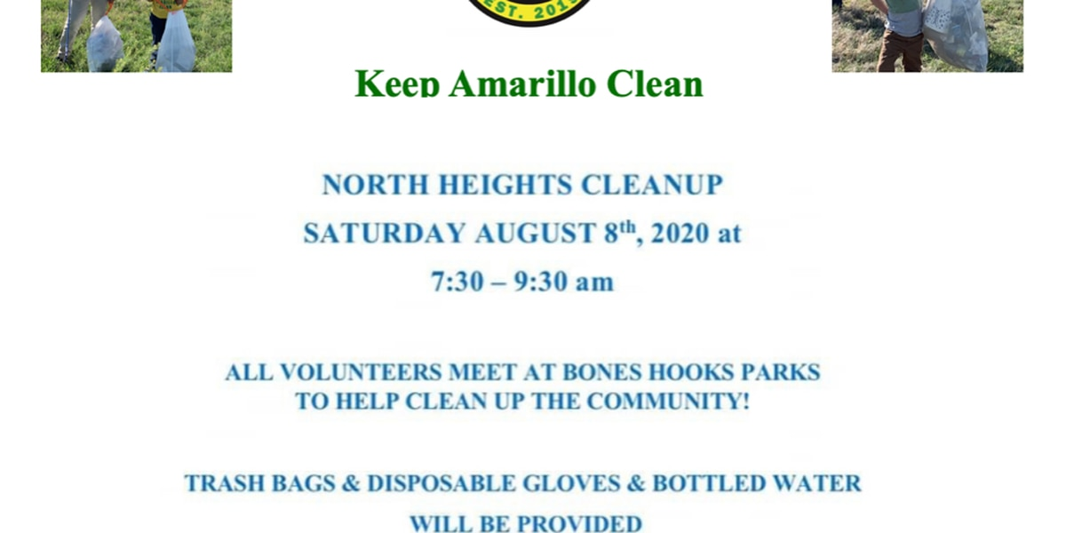 Keep Amarillo Clean hosting North Heights Cleanup this weekend