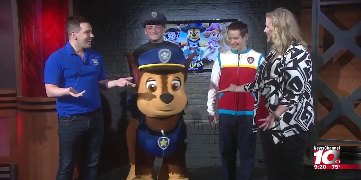 INTERVIEW: Paw Patrol Live visits 2nd Cup before their show