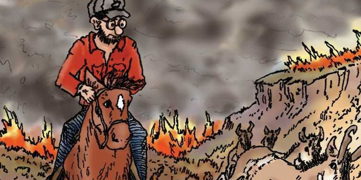 A year later: John Erickson writes about the Perryton fire through the eyes of Hank the Cowdog