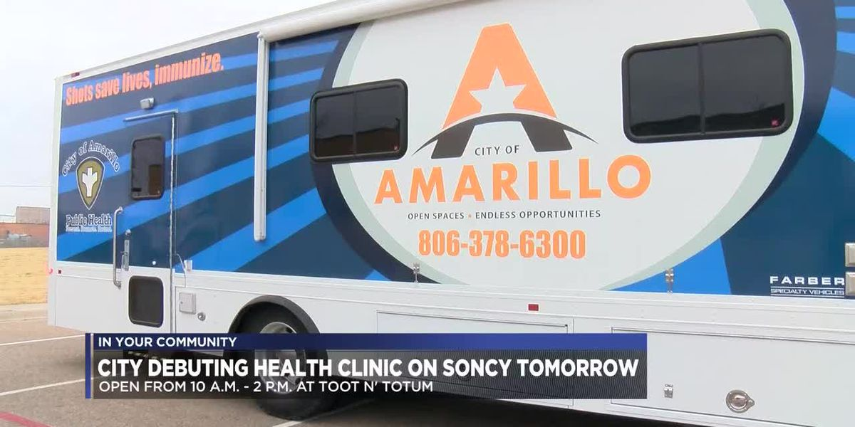 New City of Amarillo mobile health clinic site includes immunizations, HIV testing
